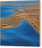 Dancing Water Wood Print
