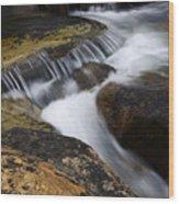 Dancing Waters 6 Wood Print