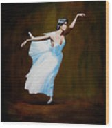 Dancing With Dasies  Wood Print
