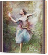 Dancing With The Light Wood Print