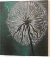 Dandelion Phatansie Wood Print
