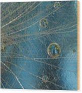 Dandy Drops Wood Print