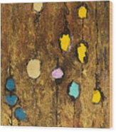 Dangling Blossoms Wood Print by Tara Thelen