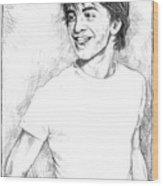 Daniel Radcliffe Wood Print