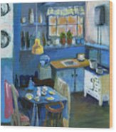 Danish Kitchen Wood Print