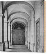 Danish Vault Wood Print