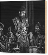 Danny Davis With Sun Ra Arkestra Wood Print