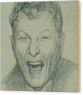 Danny Kaye Wood Print