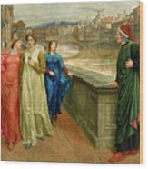 Dante And Beatrice Wood Print