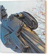 Dante In Meridian Hill Park Wood Print
