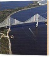 Dantes Bridge Wood Print