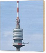 Danube Tower Vienna Wood Print