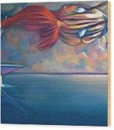 Daphnis And Chloe Wood Print