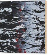 Dark Daze Wood Print