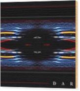 Dark Divine Wood Print