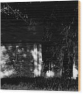 Dark House Wood Print