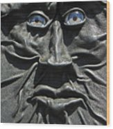Dark Man Wood Print