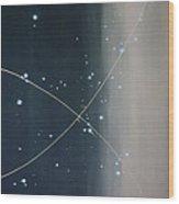 Dark Matter Wood Print