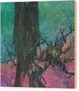 Dark Sentinels Wood Print