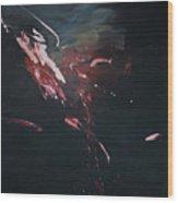 Dark Serie, I Wood Print by Daniel Hannih