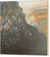 Dark Storm Wood Print