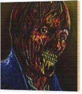 Darkman Wood Print