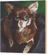 Darla Chihuahua  Wood Print