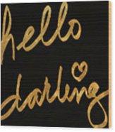 Darling Bella I Wood Print