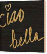 Darling Bella II Wood Print