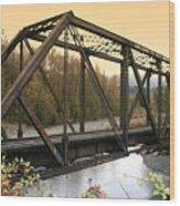 Darrington Bridge Br-6002 Wood Print