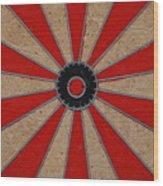 Dart Board Wood Print