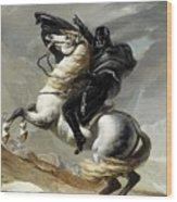 Darth Bonaparte Wood Print