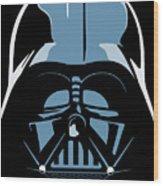 Darth Vader Wood Print by IKONOGRAPHI Art and Design