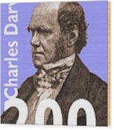 Darwin 200 Lilac Wood Print