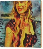 Daryl Hannah Collection - 1 Wood Print