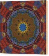 Das Bunte Kaleidoskop Wood Print