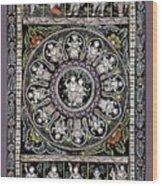 Dashavtar B/w 1  Wood Print