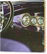 Dashboard Wood Print