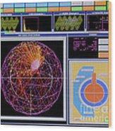 Data Capture, Sudbury Neutrino Wood Print