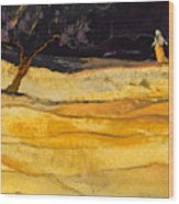 Date In The Night Wood Print