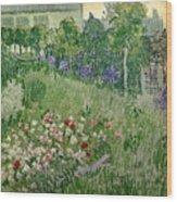 Daubigny's Garden Wood Print