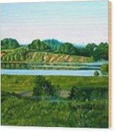 Daugava Wood Print