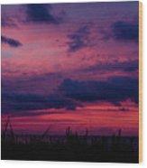 Dauphin Island Sunset #4 Wood Print