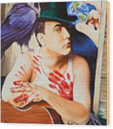 Dave Matthews-raven Wood Print