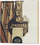 Daved Jewelers  Wood Print