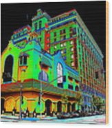 Davenport Hotel Downtown Spokane Wood Print
