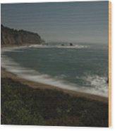 Davenport Nightscape Wood Print