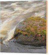Dave's Falls #7442 Wood Print