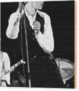 David Bowie 1976 #2 Wood Print