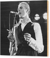 David Bowie 1976 #3 Wood Print